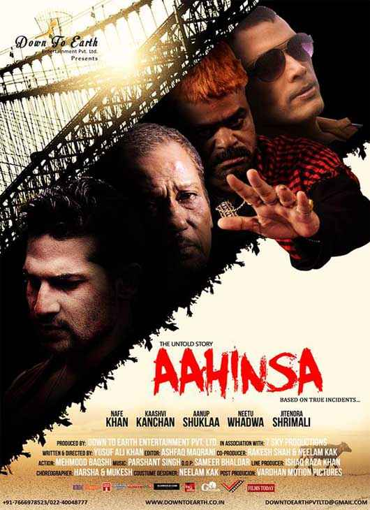 The Untold Story Aahinsa  Poster