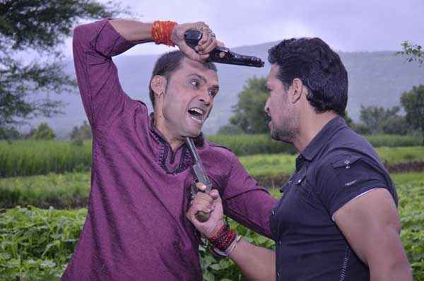 The Untold Story Aahinsa Anup Shukla Nafe Khan Fighting Scene Stills