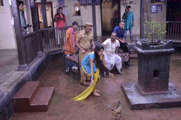 The Untold Story Aahinsa Comedy Scene Stills