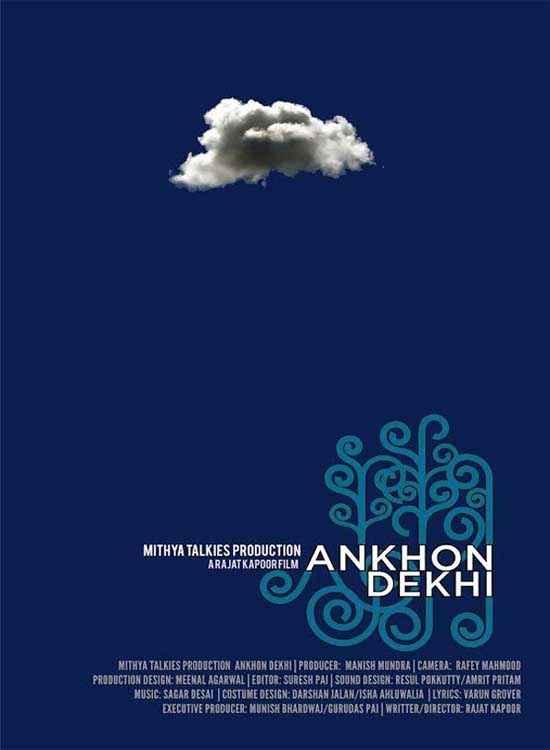 Ankhon Dekhi  Poster