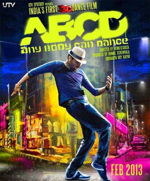 ABCD - AnyBody Can Dance First Look Poster