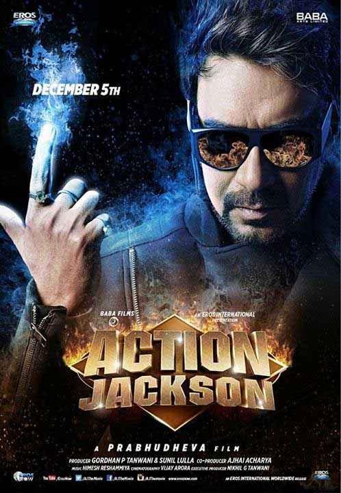 Action Jackson Ajay Devgan Poster