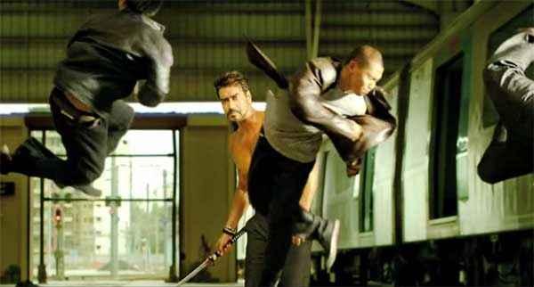 Action Jackson Ajay Devgn Fighting Pics Stills