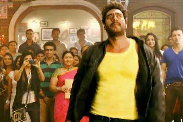 Action Jackson Ajay Devgn In Yellow Baniyan Stills
