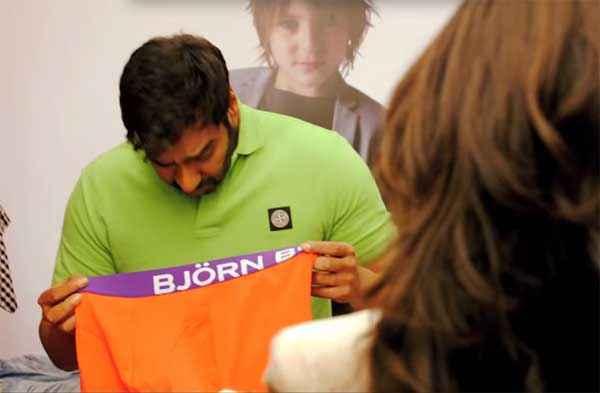 Action Jackson Ajay Devgn Showing Underwear Stills