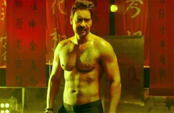 Action Jackson Ajay Devgn Six Pack Stills