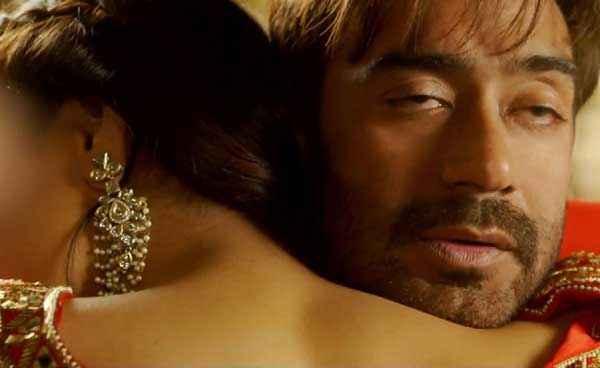 Action Jackson Ajay Devgn Sonakshi Sinha Hug Pics Stills