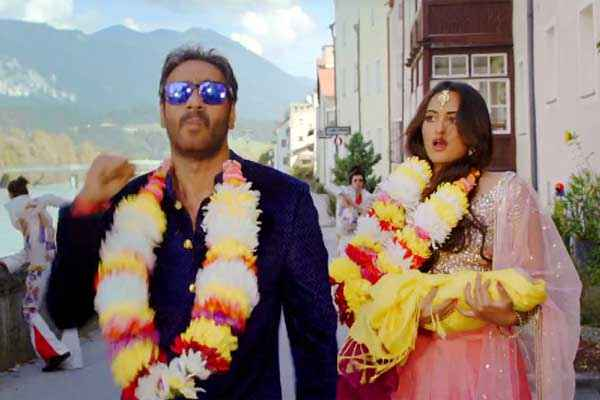Action Jackson Sonakshi Sinha Ajay Devgn Marriage Stills