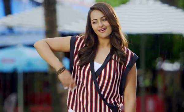 Action Jackson Sonakshi Sinha Cute Dress Stills