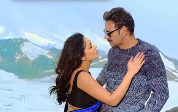 Action Jackson Yami Gautam Ajay Devgn Romance Stills