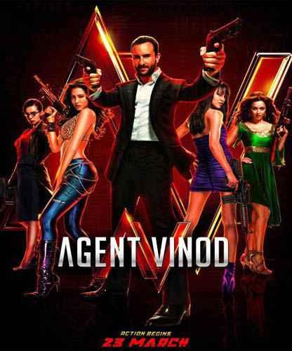 Agent Vinod image poster
