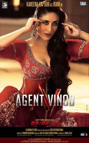 Agent Vinod of karina kapoor mujra poster