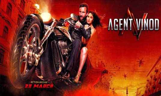 Agent Vinod photos poster