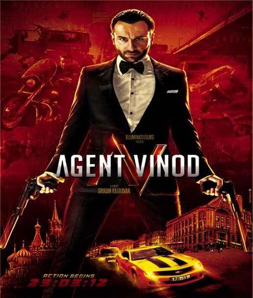 Agent Vinod saif ali khan poster