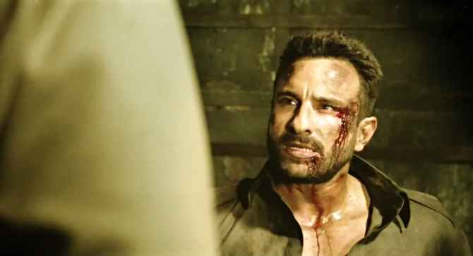Agent Vinod Saif Ali Khan Action Images Stills