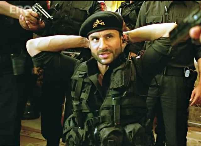 Agent Vinod Saif Ali Khan Action Pictures Stills