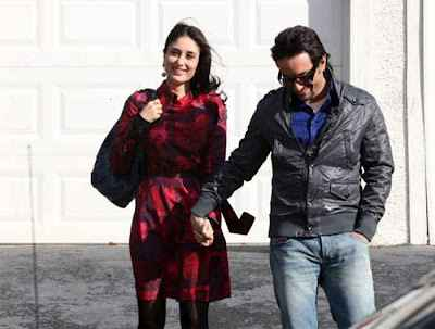 Agent Vinod Saif Ali Khan and Karina Kapoor Photos Stills