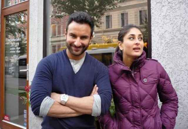 Agent Vinod Saif Ali Khan and Karina Kapoor Pics Stills