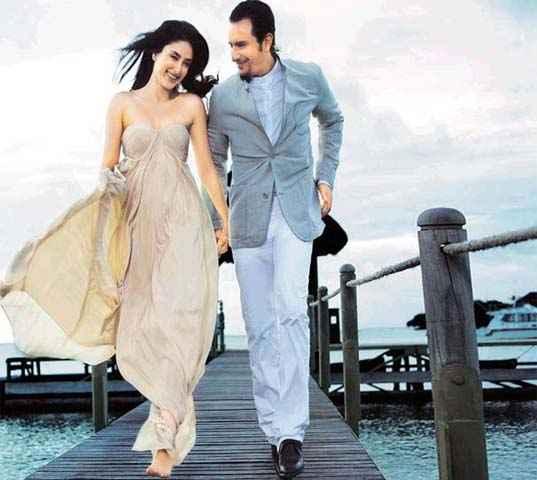 Agent Vinod Saif Ali Khan and Karina Kapoor Scene Stills
