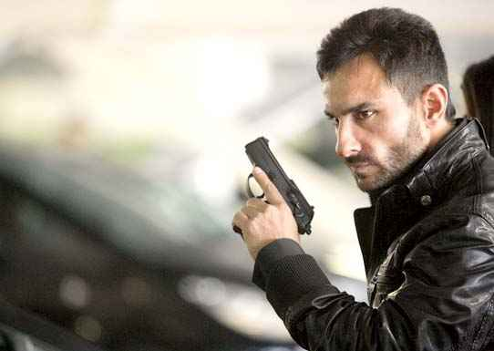 Agent Vinod Saif Ali Khan With Gun Image Stills