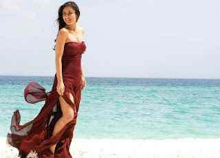 Agent Vinod Sexy Karina Kapoor On beache Stills