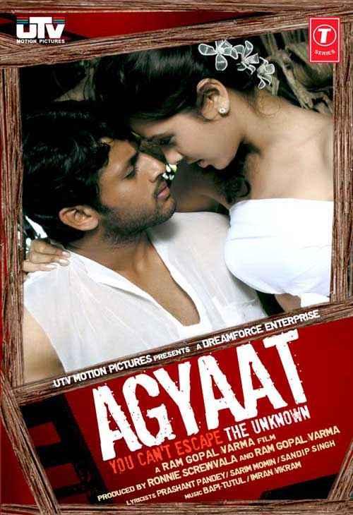 Agyaat Nitin Reddy Nisha Kothari Poster