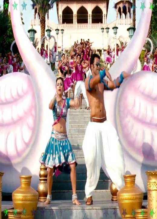 Aiyyaa Rani Prithviraj in Song Dance Stills