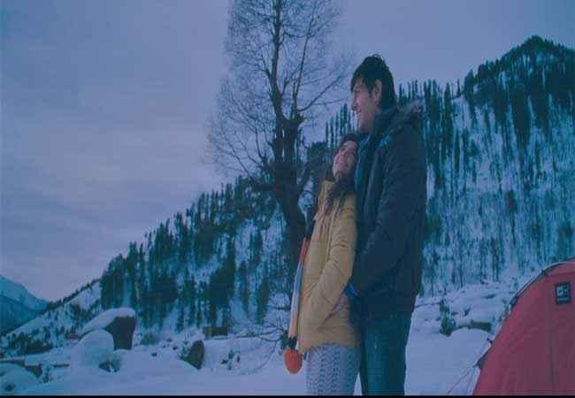 Akaash Vani Kartik Tiwari Nushrat Bharucha in Ice Stills