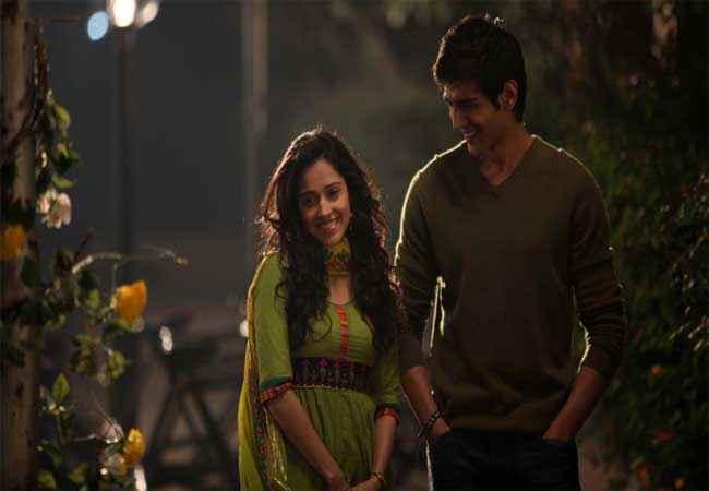 Akaash Vani Kartik Tiwari Nushrat Bharucha in Romantic mood Stills