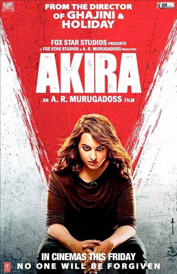 Akira Sonakshi Wallpaper Poster