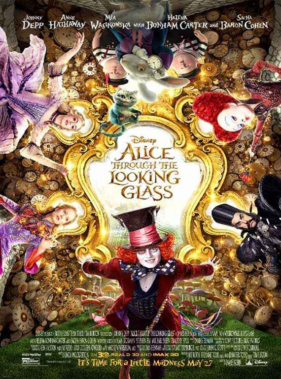 Alice Through the Looking Glass (English)  Poster