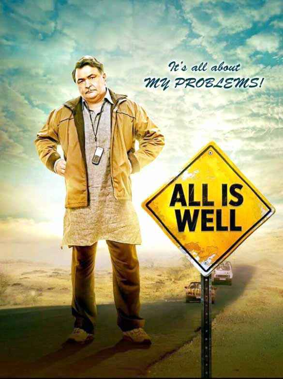 All Is Well Rishi Kapoor Poster