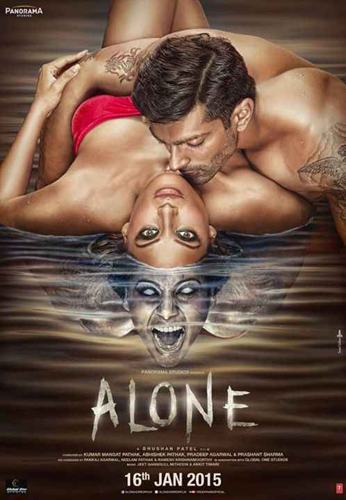 Alone Bipasha Basu Karan Singh Grover Poster