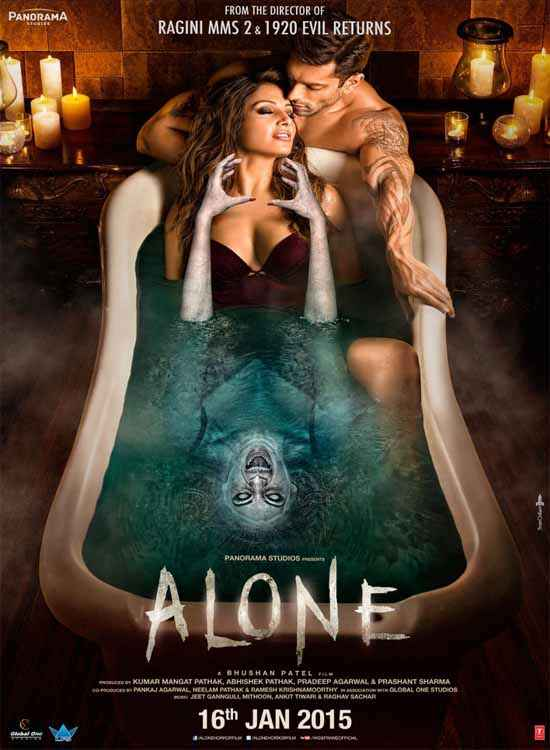Alone Horror Poster