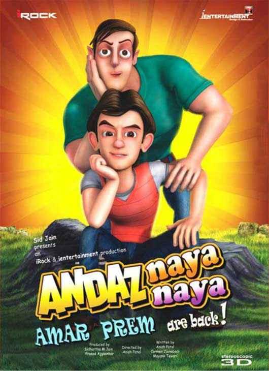 Andaz Naya Naya Poster