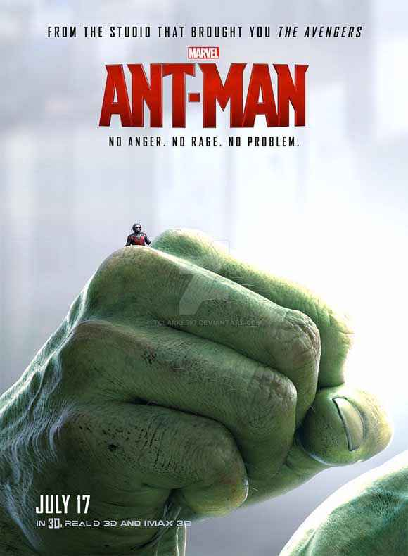 Ant Man Hand Poster