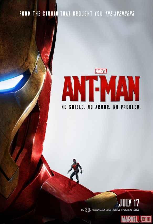 Ant Man Ironman Poster