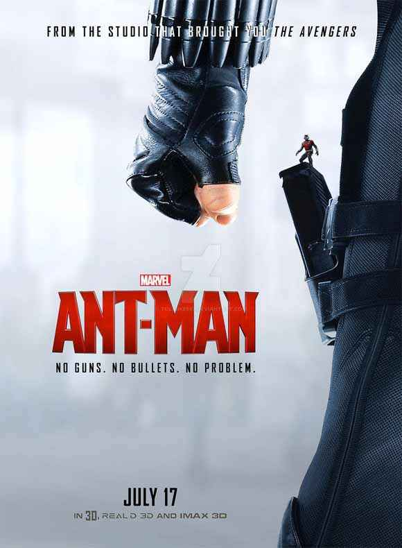 Ant Man Latest Poster