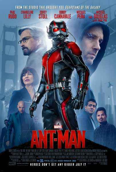 Ant Man Star Cast Poster