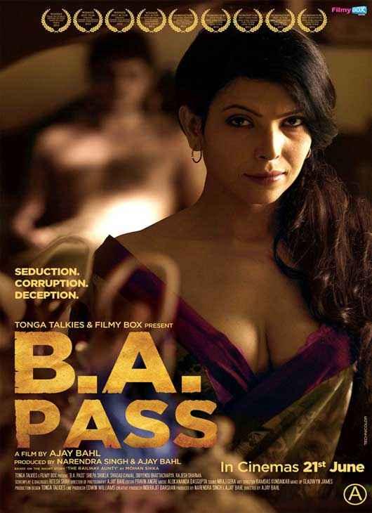 B A Pass Shilpa Shukla Hot Poster