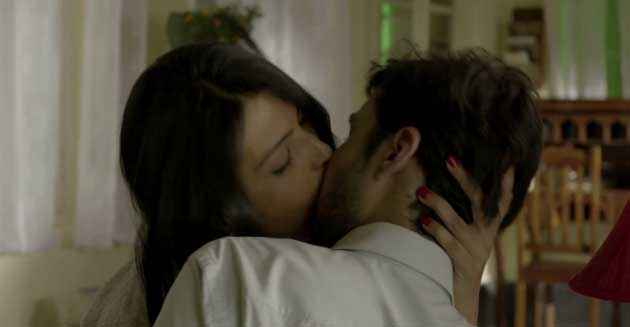 B A Pass Shadab Kamal Shilpa Shukla Hot Kiss Stills