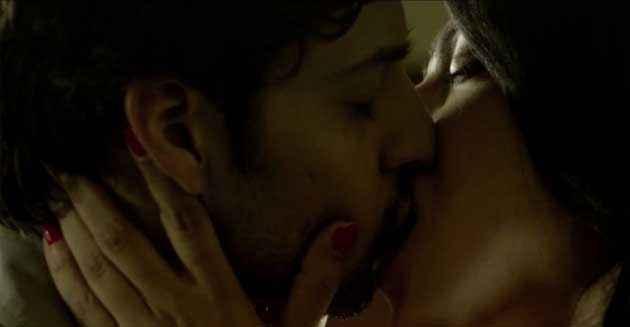 B A Pass Shilpa Shukla Hot Kiss Stills