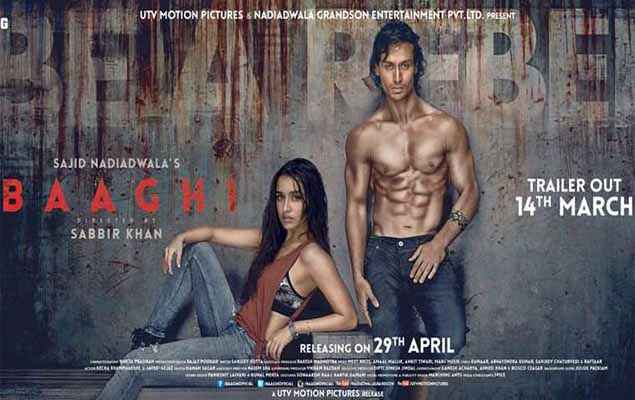 Baaghi 2016 First Look Poster