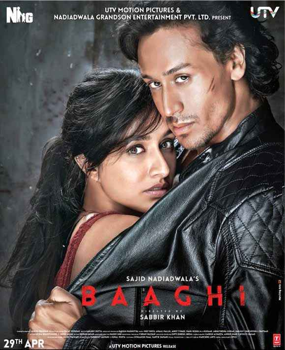 Baaghi 2016 Poster