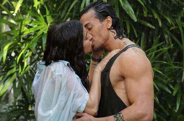 Baaghi 2016 Tiger Shroff Shraddha Kapoor Kissing Scene Stills