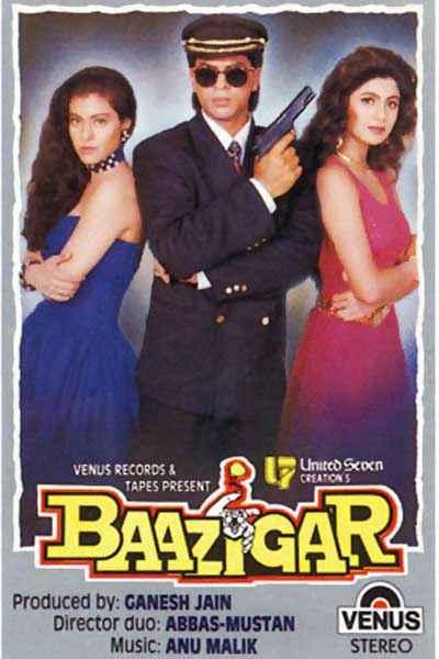 Baazigar  Poster