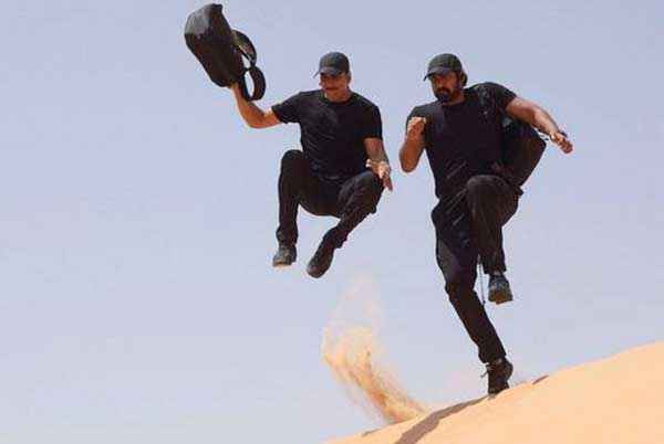 Baby Akshay Kumar Stunts Stills