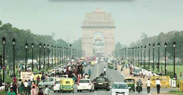 Baby India Gate Road Stills