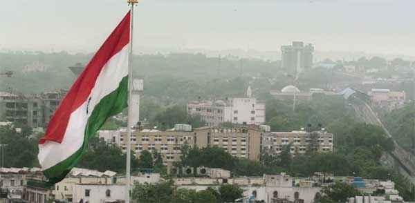 Baby Indian Flag Stills