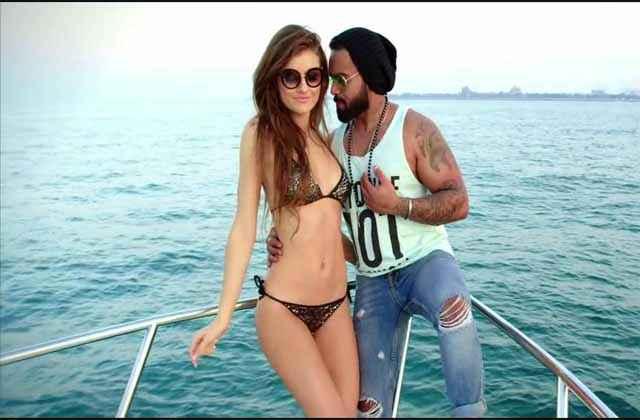 Bad Wali Feeling Indeep Bakshi Neha Kakkar Hot Bikini Poster